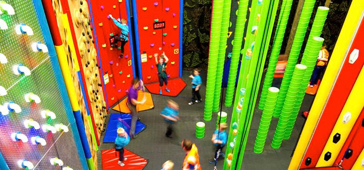 Clip and climb at Kango